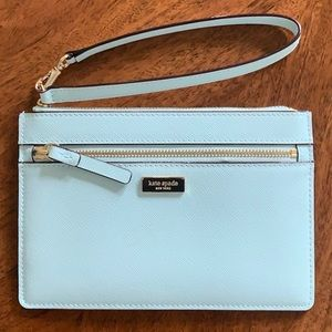 Kate Spade Wristlet Clutch Mint Green
